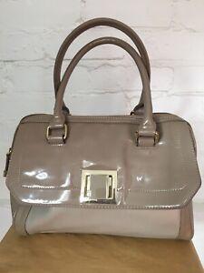 Jasper Conran Tote Bag Scratches Front Flap & Handle Machine Mark Zip See Photos