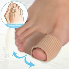 Toe Separator Bunion Pad Corrector Orthotics Straightener Silicone Soft Gel Pad