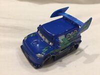 Disney Pixar Cars DJ BAD BOY LENTICULAR EYES MOVE 1:55 Diecast TOKYO DRIFT X