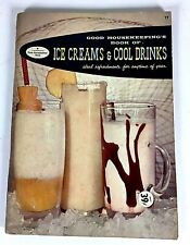 Book Of Ice Creams & Cool Drinks From Good Housekeeping's 1958 Vintage Man Cave