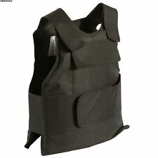 Body Bulletproof Vest Front Back Plates Armor Tactical Jacket Guard Security Kit