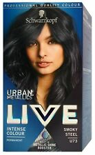 Schwarzkopf Live Urban Metallics U73 Smokey Steel Haarfarbe