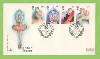 G.B. 1982 Theatre set on Mercury First Day Cover, Pitlocry Perthshire