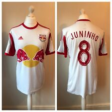 New York Red Bulls 2013 Home Shirt JUNINHO #8 Size L