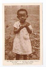 AFRIQUE scenes types ethnies missions Ethnics GABON enfant antoinette 4 ans
