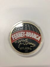 Fernet Branca 2018 Challenge Coin +FREE DISPLAY CASE