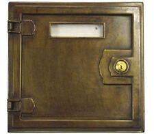 Sportello cassetta postale per ritiro posta lettere ottone qualità made in Italy