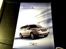 2008 CHRYSLER TOWN & COUNTRY SALES BROCHURE for FULL PRODUCT LINE-NEW