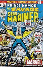 Prince Namor The Savage Sub-Mariner No.67 / 1973 Marvel Legends Toy Reprint 2002