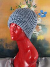 PRINTED INSTRUCTIONS- SIMPLE UNISEX SKI BEANIE  HAT KNITTING PATTERN