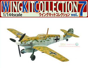 Wing Kit 7 #3A F-Toys WW2 Messerschmitt Bf109 E-4 Germany Fighter Aircraft 1:144