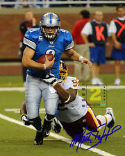 "Matthew Stafford quarterback NFL 8""x 10"" Signed Color PHOTO REPRINT"