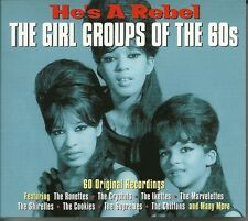 HE'S A REBEL THE GIRL GROUPS OF THE 60's - 3 CD BOX SET - THE RONETTES & MORE