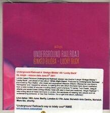 (BR528) Underground Railroad, Ginkgo Biloba - DJ CD