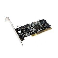 Serial ATA SATA PCI Controller Support RAID Host Card 4 Port Low Profile Adapter