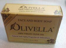 Olivella 100% Virgin Olive Oil Face & Body Bar Soap Set of 5 - 5.29 oz.