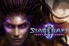 ♛ NEW ♛ StarCraft II:Heart of the Swarm (Hard Cover) SEALED in Plastic FREE ShpN