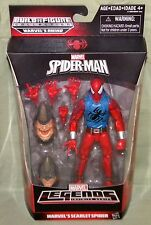 "Marvel Legends SCARLET SPIDER RHINO BAF Series Action Figure 6"" SPIDER-MAN"