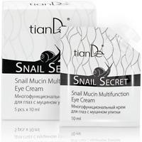 TianDe Snail Extract Serum Day & Night Anti Ageing Dark Circle  Eye Cream 5x10ml