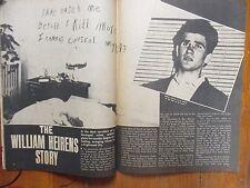 "Nov-1976 ""CRIME""  Magazine  (WILLIAM  HEIRENS/RICHARD  CARPENTER/LEGS  DIAMOND)"
