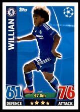 Match Attax Champions League 15/16 Willian Chelsea No. 137