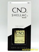 CND Shellac Gel Polish UV/LED Soak-Off #40401- Original Top Coat 0.25fl oz