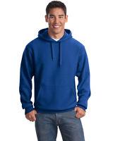 Sport-Tek Men's Front Pouch Pocket Pullover Hooded Fleece Sweatshirt. F281