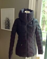New Calvin Klein 90% Down Quilted Puff Black Jacket Size L