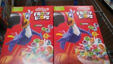 (2 Boxes) Kellogg's Froot Loops Breakfast Cereal 19.4oz