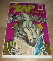 Zap Comix #6  Underground Comix  R. Crumb And Gang   1973 Great Book