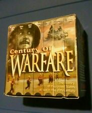 CENTURY OF WARFARE  7 VHS BOX SET 6-1/2 hrs Marathon Music Video FREE SHIPPING!