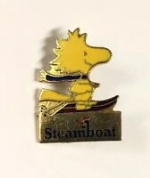 Beautiful Gold Tone Steamboat Woodstock Aviva United Feature Pin