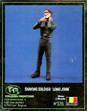 Verlinden 1:35 54mm Shaving Soldier Long John Resin Figure Kit #376