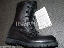 Military Waterproof Goretex ICW Work Boots 8.5 9 R US ARMY GI Black Leather NEW