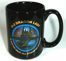 New ListingLockheed Martin U-2 Dragon Lady Coffee Mug Aviation Aerospace
