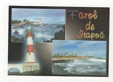 Farol de Itapoa Salvador Brazil Postcard 350a ^