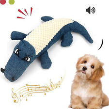 New listing New Pet Dog Toy Linen Plush Animal Toy Dog Chew Squeaky Noise Cleaning Teeth P3