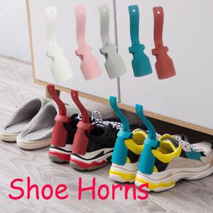 Lazy Shoe Helper Unisex Handled Shoes Horn Easy on&Off Shoe  Lifting Helper