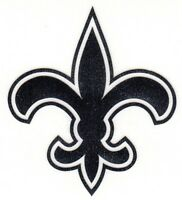 REFLECTIVE New Orleans Saints fire helmet motorcycle hard hat decal sticker RTIC