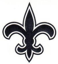 REFLECTIVE New Orleans Saints fire helmet motorcycle hard hat decal sticker yeti