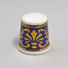 Kämmer PORCELLANA ditale Fiore Ornament ORO/BLU 2,5x2,6cm 88222