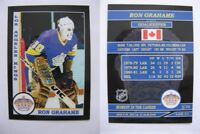 2015 SCA Ron Grahame Los Angeles Kings goalie never issued produced #d/10