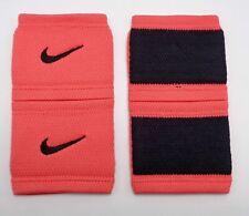 Nike Dri-Fit Stealth Wristbands Tennis Bright Crimson/Black Mens Women's