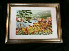 QUADRO DIPINTO MICHELE CASCELLA ITALY PAINTING