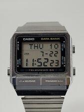 Vintage Men's Casio Data-Bank Digital Watch - DB-510 - Module 262