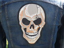 GRAND ECUSSON PATCH THERMOCOLLANT/ CRANE skull bone biker trike country moto