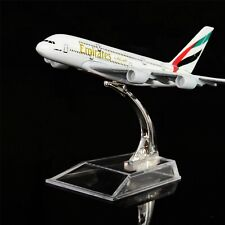 1:400 16cm Emirates A380  Metal Airplane Model Office Decoration Toy Gift
