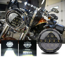 "7"" LED Motorcycle Projector Daymaker Headlight Bulb For Harley Street Glide FLHX"