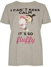 Cotton Blend T-Shirts Plus Size for Women