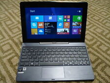 "Very Nice Asus Transformer Book T100TA-C1-GR 64GB 10.1"" Laptop/Tablet + Keyboard"